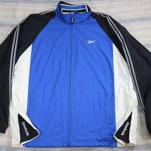Vintage REEBOK Colorblock Zip Track Jacket